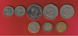 Kenya  -- Lot De 8 Monnaies - Kenya