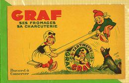 BUVARD & BLOTTER & Ses Fromages Sa Charcuterie GRAF D'apres Joz  Jaune - Dairy