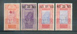 GUIN 243 - YT 80 à 83 * - Französisch-Guinea (1892-1944)