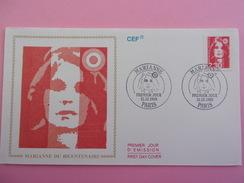 FRANCE FDC 1989 YVERT 2614 MARIANNE PARIS - 1980-1989