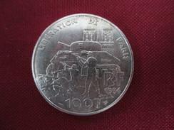 100 Francs Libération De Paris 1994 ARGENT - N. 100 Francs