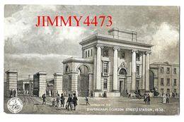 POST CARD - BIRMINGHAM ( Curzon Street ) STATION 1838 - L. & N. W. R. REVISED SERIES Janv. 1905 - Scans Recto-Verso - Gares - Sans Trains