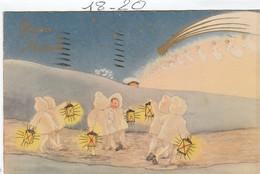 BUON NATALE  : Enfants Aux Lampions ( Illust. à Définir ) - Neujahr
