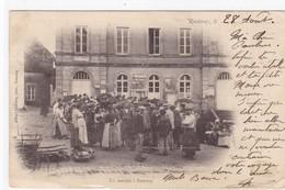 Côte-d'Or - Rouvray - Un Marché à Rouvray - France
