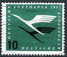 BRD - Michel 206 - OO Gestempelt (A) - 10Pf   Lufthansa - [7] West-Duitsland