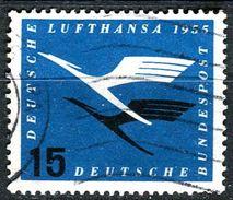 BRD - Michel 207 - OO Gestempelt (A) - 15Pf   Lufthansa - [7] West-Duitsland