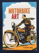 Motorbike Art Playing Cards, Piatnik, Austria, New, Opened - Playing Cards (classic)