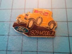 Pin710b Pin's Pins / Beau Et Rare : FORD 1929 MODEL A  Marquage Au Dos : - --- - - Ford