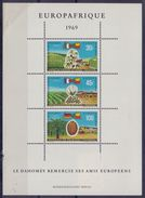 DAHOMEY :1969: Y.BF16 Dentelé : ## EUROPAFRIQUE ## : INDUSTRY,COTTON,PALM OIL, - Bénin – Dahomey (1960-...)