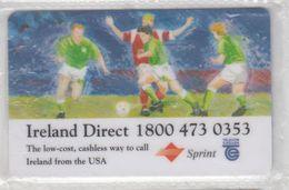 IRELAND 1994 SPRINT FOOTBALL WORLD CUP MINT PHONE CARD - Sport