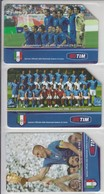ITALY 2006 FOOTBALL WORLD CUP TEAM USED PHONE CARD - Sport
