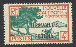 Wallis And Futuna, 4 C. 1930, Sc # 46, MH. - Wallis And Futuna