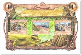 Guinee 2013, Postfris MNH, Animals, Lizards - Guinee (1958-...)
