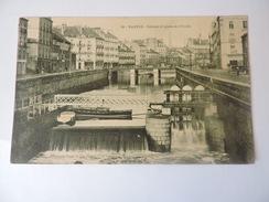 NANTES - Ecluses Et Quais De L'Erdre N°1876 - Nantes