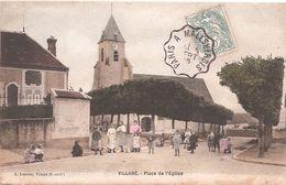CPA - Villabé - Place De L'Eglise - Verrieres Le Buisson