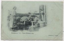 MARSEILLE - Types Marseillais (Lavandières)  (101245) - Sin Clasificación
