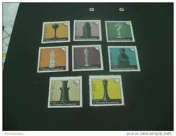 F4212-  Set  MNH  Guinea Ecuatorial - Pieces Of Chess - Schaken