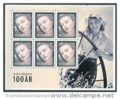 ZWEDEN 2015 Souveniersheet Ingrid Bergman PF-MNH-NEUF - Suède