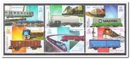 Cuba 2015, Postfris MNH, Trains - Cuba