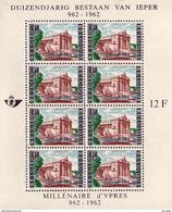 Belgium BL 033** Millénaire De La Ville D'Ypres  MNH - Blocs 1962-....