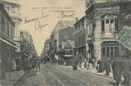 409- PARIS - Rue De La Gaieté Et Théâtre Montparnasse  -ed. P Marmuse - District 14