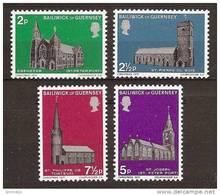 GUERNSEY 1971 - CHRISTMAS / Churches - 4v Mi 58-61 MNH ** Neuf Cv€7,00 D322 - Guernsey