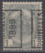 D7136 - Belgium Mi.Nr. 50 Precancel Bruxelles 1899 (*)/used - Precancels