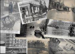 Lot 1065 De 10 CPA Catastrophe Inondations De Paris Déstockage Pour Revendeurs Ou Collectionneurs - Postkaarten