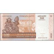 TWN - MADAGASCAR 88b - 500 Francs 2008 A XXXXXXX R UNC - Madagascar