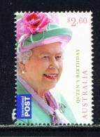 AUSTRALIA  -  2014  Queens Birthday  $2.60  International Post  Sheet Stamp  Used As Scan - Oblitérés