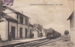 CPA Apremont-sur-Aire - La Gare (petite Animation Avec Train) - Autres Communes