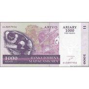 TWN - MADAGASCAR 89a - 1000 1.000 Francs 2004 A XXXXXXX E UNC - Madagascar