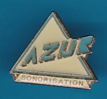 52679-Pin's.Azur Sono Aix En Provence Sonorisation, éclairage . - Villes