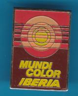 52681-Pin's.mundicolor Iberia . - Photography