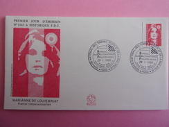 FRANCE FDC 1990 YVERT 2630 MARIANNE - 1990-1999