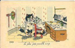 GERMAINE BOURET ED. EMY LES CHATS CHEZ LE COIFFEUR LE PLUS PRES POSSIBLE SVP - Bouret, Germaine