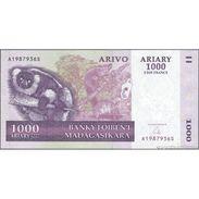 TWN - MADAGASCAR 89b - 1000 1.000 Francs 2008 A XXXXXXX S UNC - Madagascar