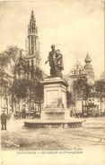 ANVERS   ---  Cathédrale Et Place Verte   ---   Hoofdkerk En Groenplaats - Antwerpen