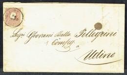 MM N° 14 / Y&T N° 15 - Brief - KLAGENFURT Nach UDINE - 12/7/1860. - Briefe U. Dokumente