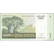 TWN - MADAGASCAR 90b - 2000 2.000 Francs 2008 A XXXXXXX R UNC - Madagascar