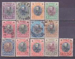66-222 / BG - 1901  PRINC  FERDINAND     Mi 50/61 + 59 II O - Used Stamps