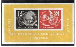 DDR140  DDR 1950 MICHL Block 7 Postfrisch ** SIEHE ABBILDUNG - DDR