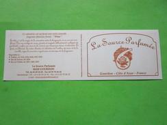 LA SOURCE PARFUMEE - CALENDRIER 2006 -   Carte Parfumée - Modern (from 1961)
