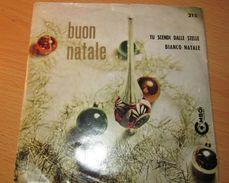 """Coro Di Bambine Diretto Da Ugo Marino - Tu Scendi Dalle Stelle / Bianco Natale (7"""", Single) - Weihnachtslieder"""