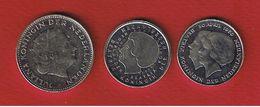 Pays -Bas  -- Lot De 3 Monnaies - [ 3] 1815-… : Royaume Des Pays-Bas