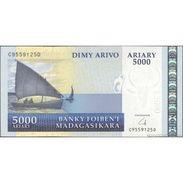 TWN - MADAGASCAR 91b - 5000 5.000 Francs 2008 C XXXXXXX D UNC - Madagascar