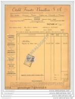 N 96 BELGIQUE BELGIUM NAMUR 1957 Outillage Automobiles FRANTZ BOUILLON Avenue Golenvaux ˆ LATOUR Rue A. Bastin - Cars