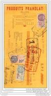 N 21 DIJON COTE D OR 1936 PRODUITS PRANOLAIT StŽ Bourguignonne Chocolaterie A LANVIN De BRAZEY EN PLAINE ˆ PERRON - Lettres De Change