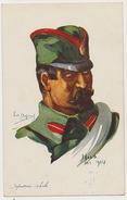 Nish October 1914 WWI Guerre Mondiale Serbian Infantry By Emile Dupuis Nos Alliés . Allied Troops - Serbie