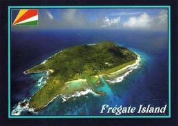 1 AK Seychellen * Blick Auf Die Insel Frégate – Luftbildaufnahme * - Seychelles